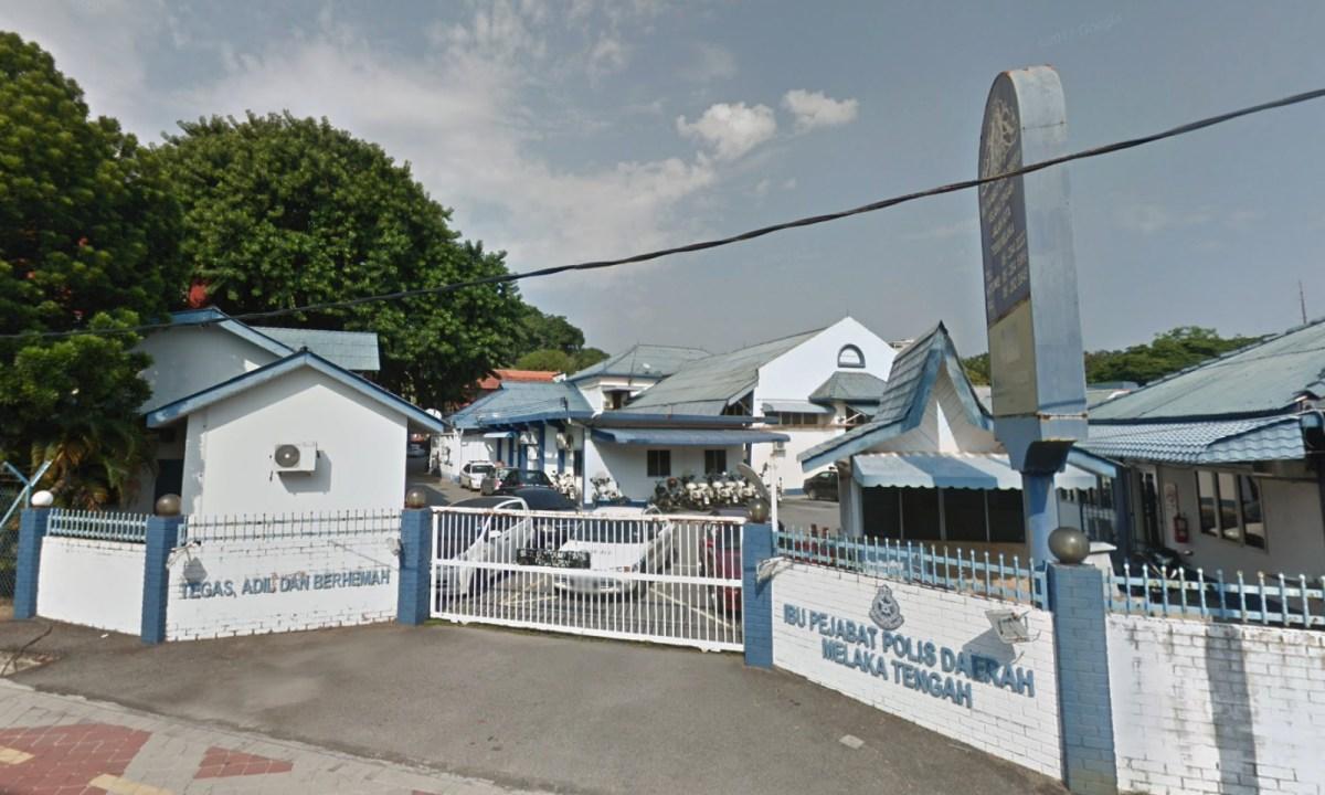 Melaka Tengah Police Station, Malacca, Malaysia. Photo: Google Maps