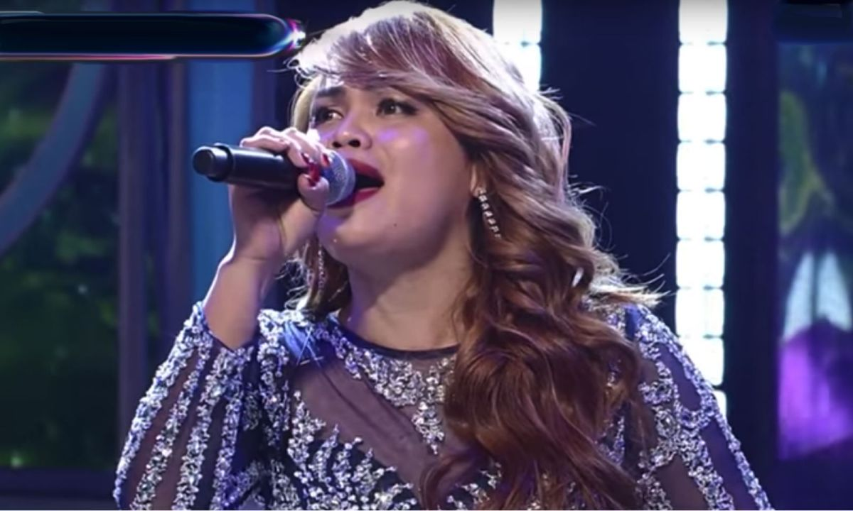 Sephy Francisco on South Korea's I Can See Your Voice. Photo: YouTube
