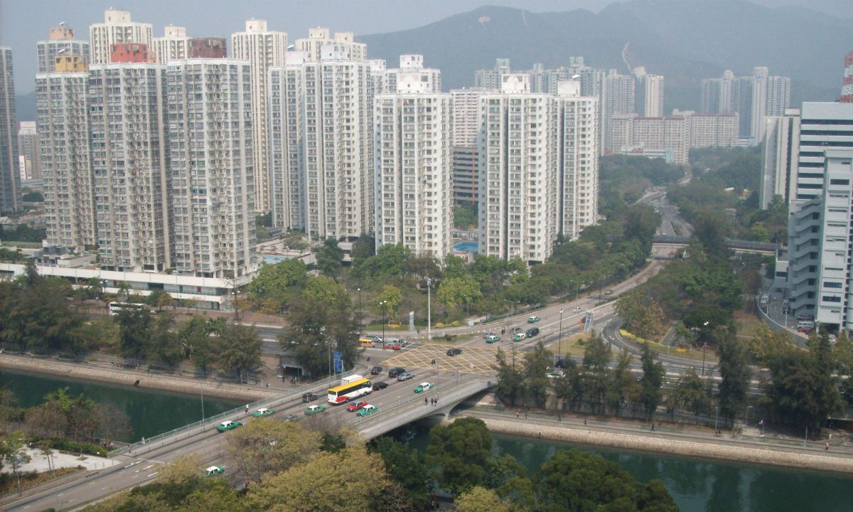 Tai Po in northern New Territories, Hong Kong. Photo: Wikimedia Commons, Toyotaboy95