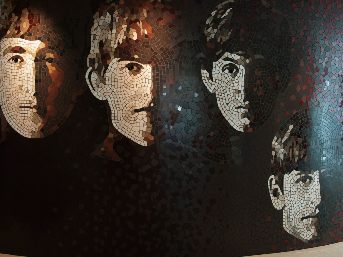 A mosaic of The Beatles at the Hard Rock Hotel in Penang. Photo: iStock