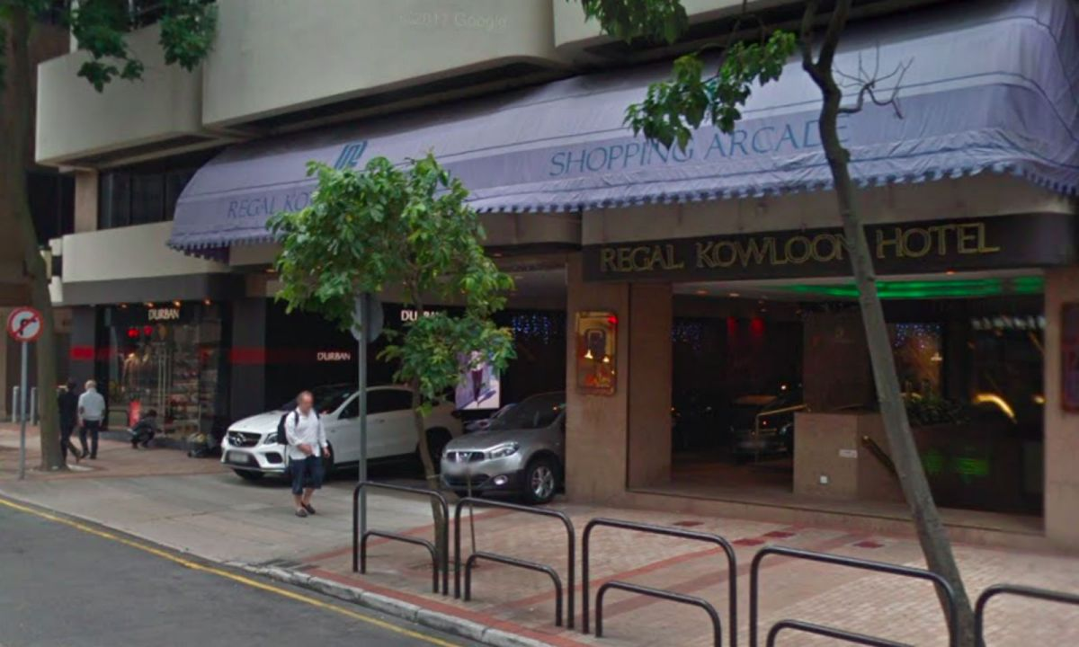 Regal Kowloon Hotel, Tsim Sha Tsui, Kowloon. Photo: Google Maps