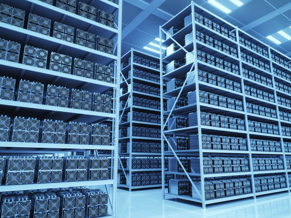 As the market crashes, many Chinese Bitcoin mines are said to be closing down and their hardware is being sold off for scrap. Photo: iStock