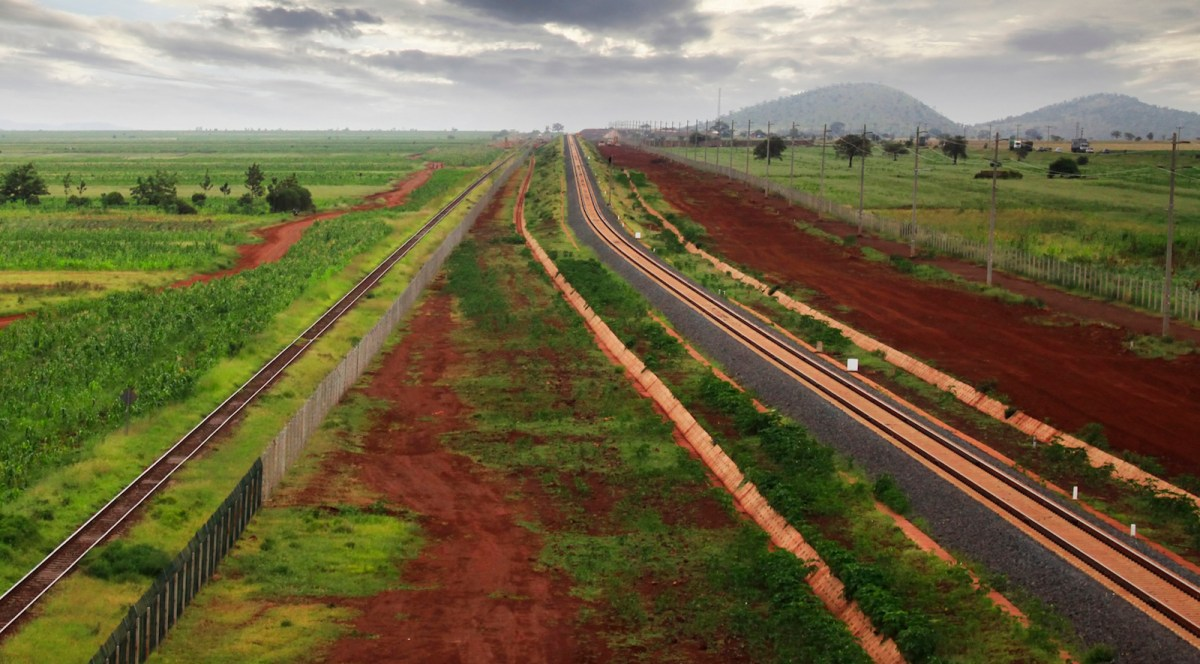 "The railway from Mombasa to Nairobi in Kenya is an example of ""we first"" in practice. Kenyans laid the tracks with the assistance of technical advisers from China, which then included the project in its Belt Road Initiative. Photo: iStock/Sansara"
