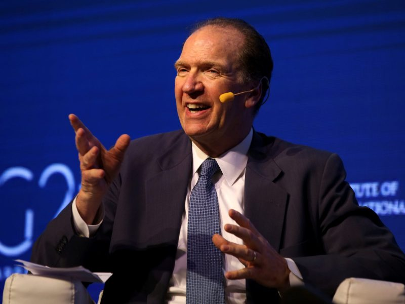 David Malpass, US Treasury Department under secretary for international affairs. Photo: Reuters / Agustin Marcarian