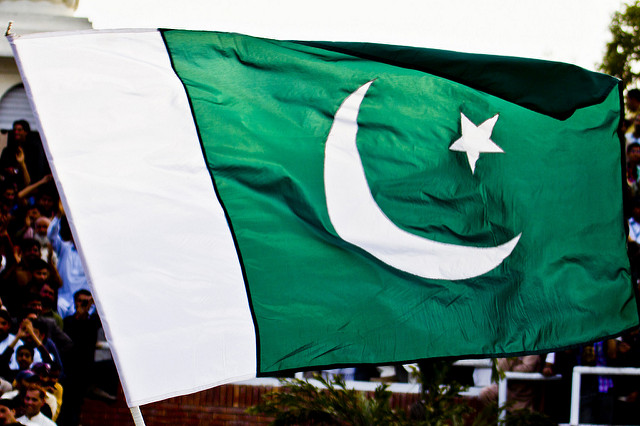 Pakistani flag. Photo: Flickr Commons