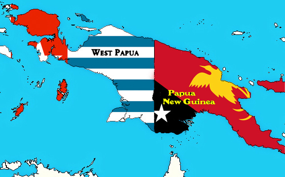 Map of Papua. Photo: Flickr Commons