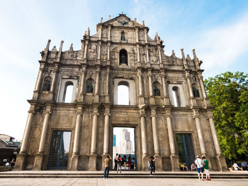 Macau where the raids took place and the 16 were arrested. Photo: iStock