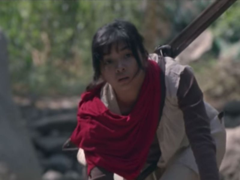 The 14-year-old Maya in the film 'Birdshot.' Photo: YouTube