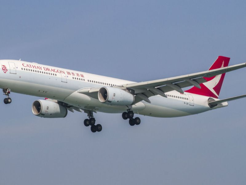 A Cathay Dragon plane. Photo: iStockphoto