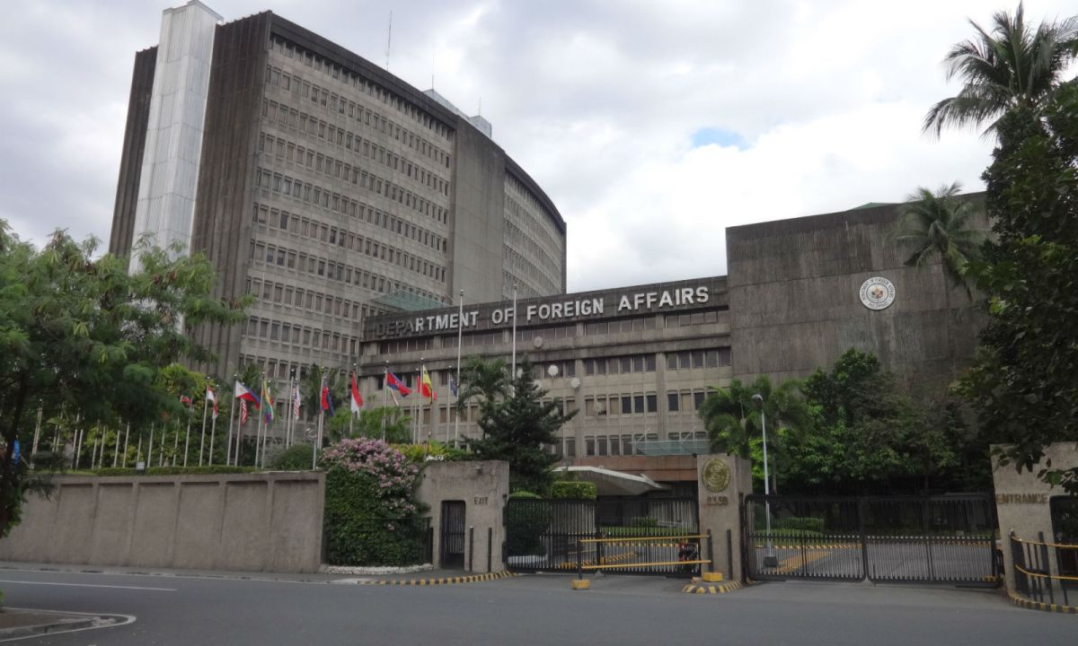 The Department of Foreign Affairs in Manila. Photo: Wikimedia Commons, Patrick Roque