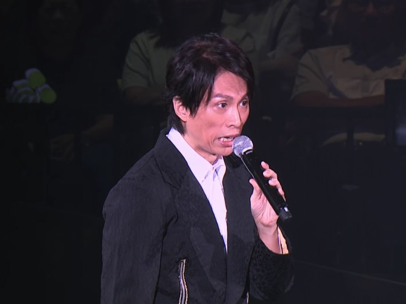 Hong Kong comedian Dayo Wong, whose concerts have been sold out. Photo: Youtube