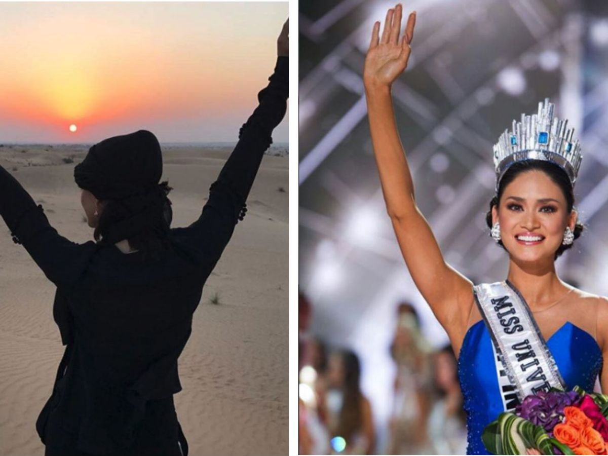 Pia Wurtzbach first went to Dubai in November 2016 during her reign as Miss Universe. Photos: Instagram, Pia Wurtzbach