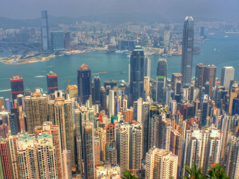 Hong Kong. Photo: Wikimedia Commons, Yinan Chen