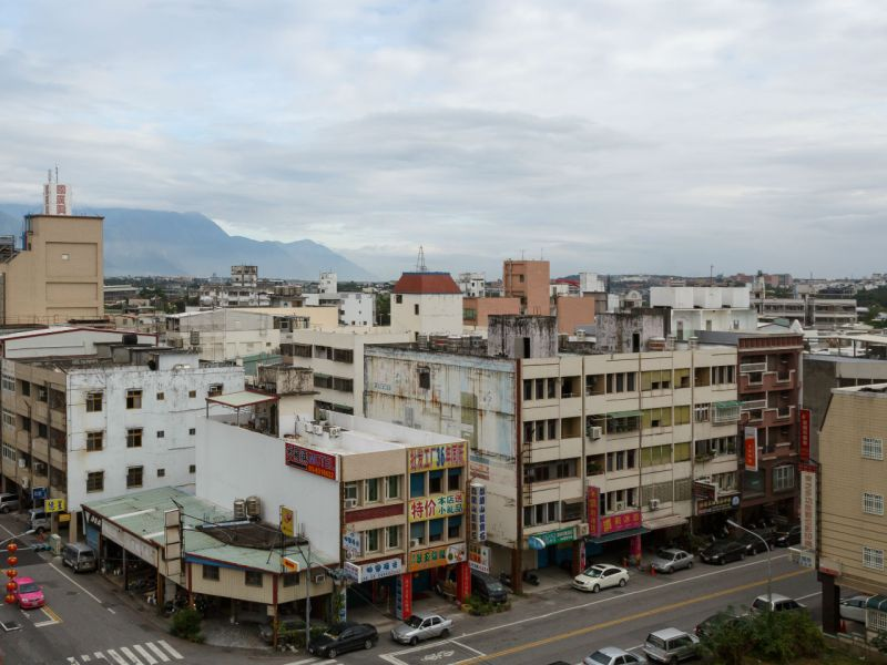 Hualien City in Taiwan. Photo: Wikimedia Commons, CEphoto, Uwe Aranas
