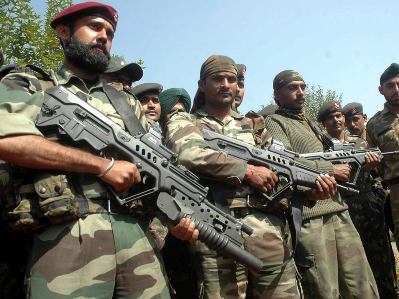 The Indian Army's Special Forces deployed in counterinsurgency operations in Jammu and Kashmir. Photo: Wikipedia