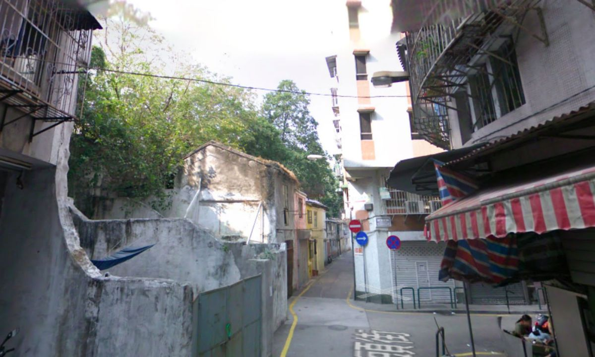 The area in Macau where the theft took place. Photo: Google Maps