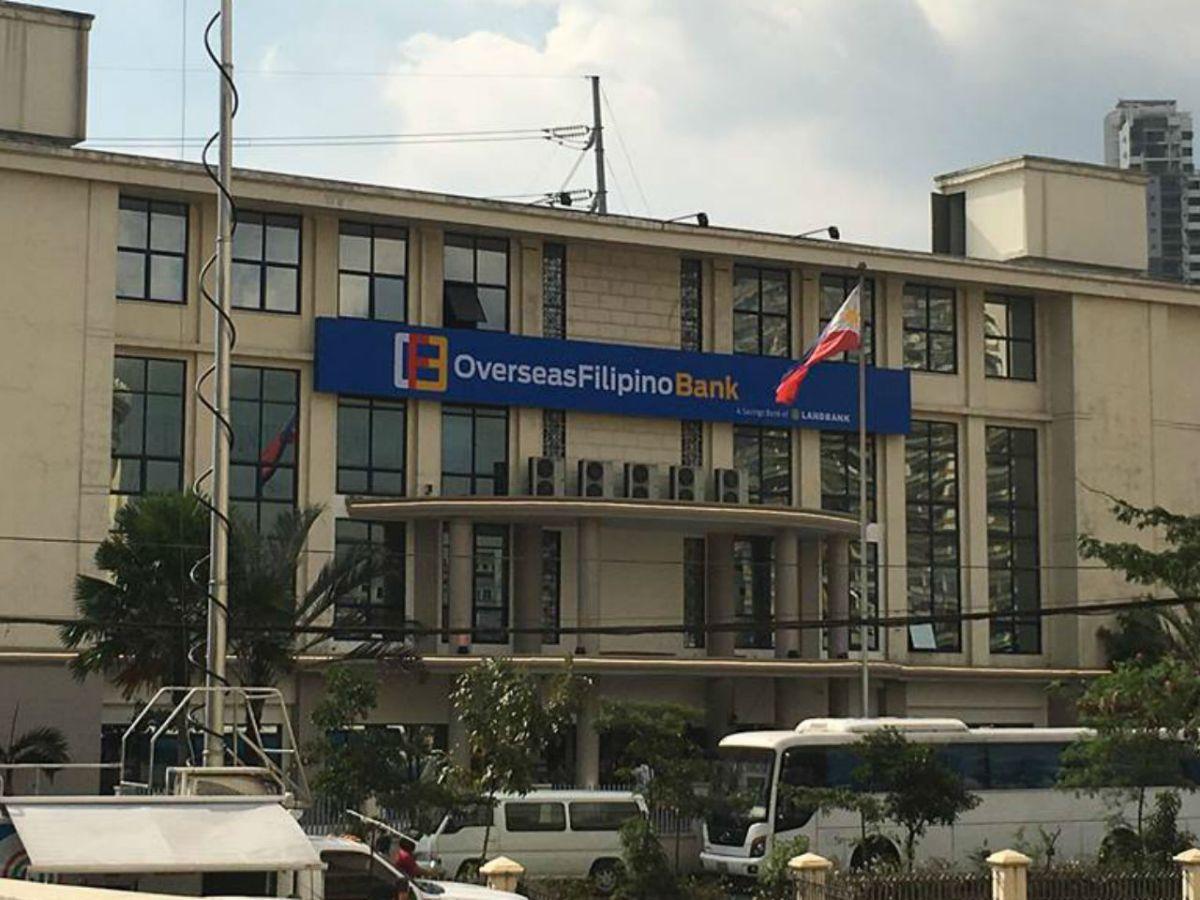 Head office of the Overseas Filipino Bank in Manila. Photo: Wikimedia Commons