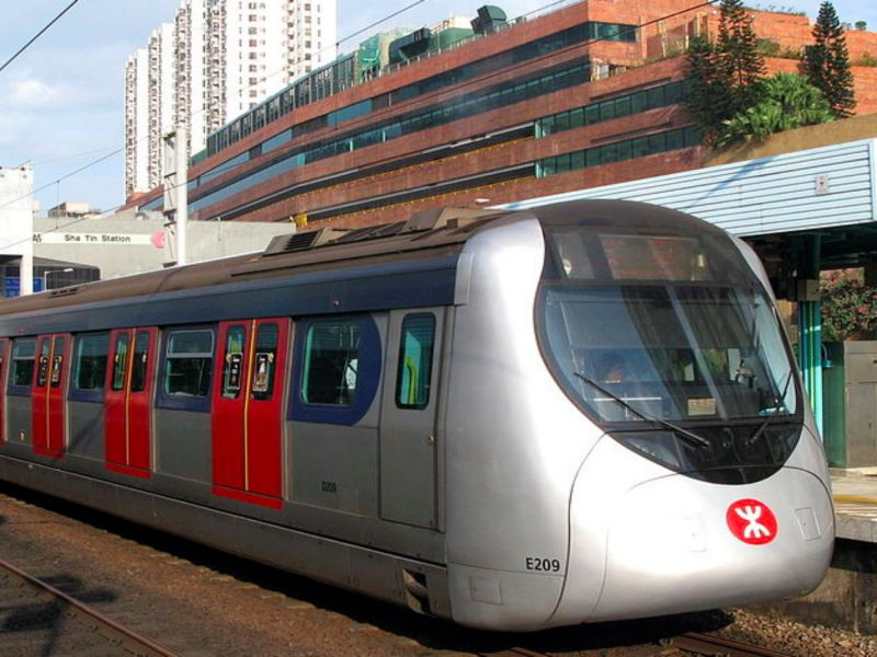 The Mass Transit Railway in Hong Kong. Photo: Wikimedia Commons