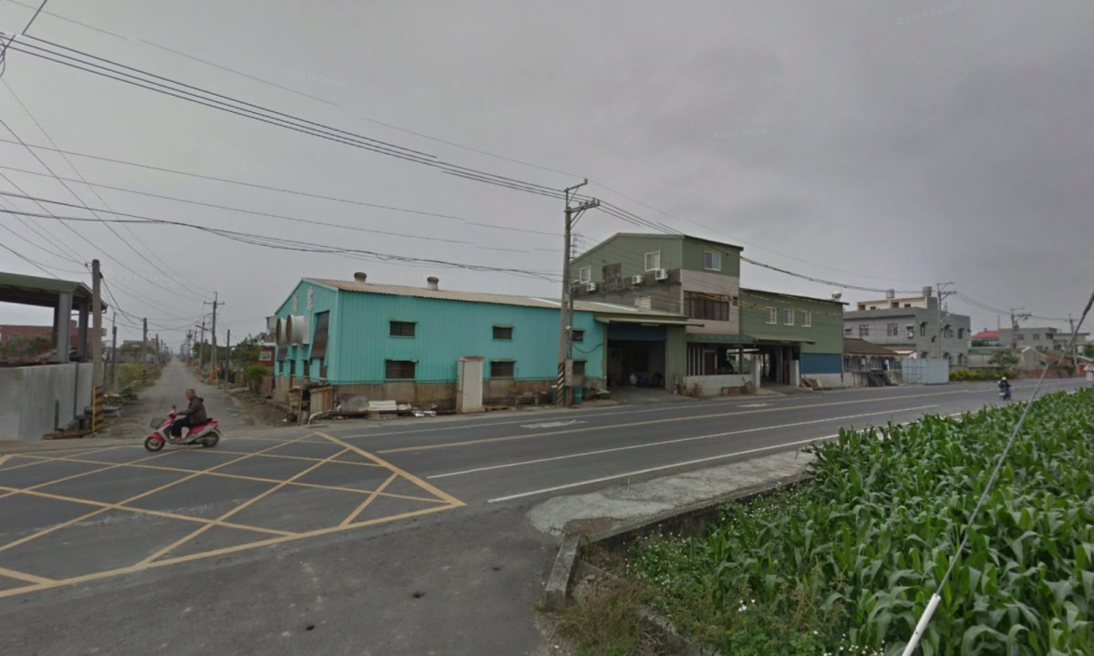 Xingang Town in Chiayi County in southern Taiwan where the accident happened. Photo: Google Maps