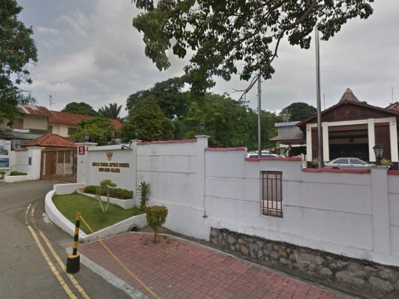 The Indonesian Embassy in Johor Bahru, Malaysia. Photo: Google Maps
