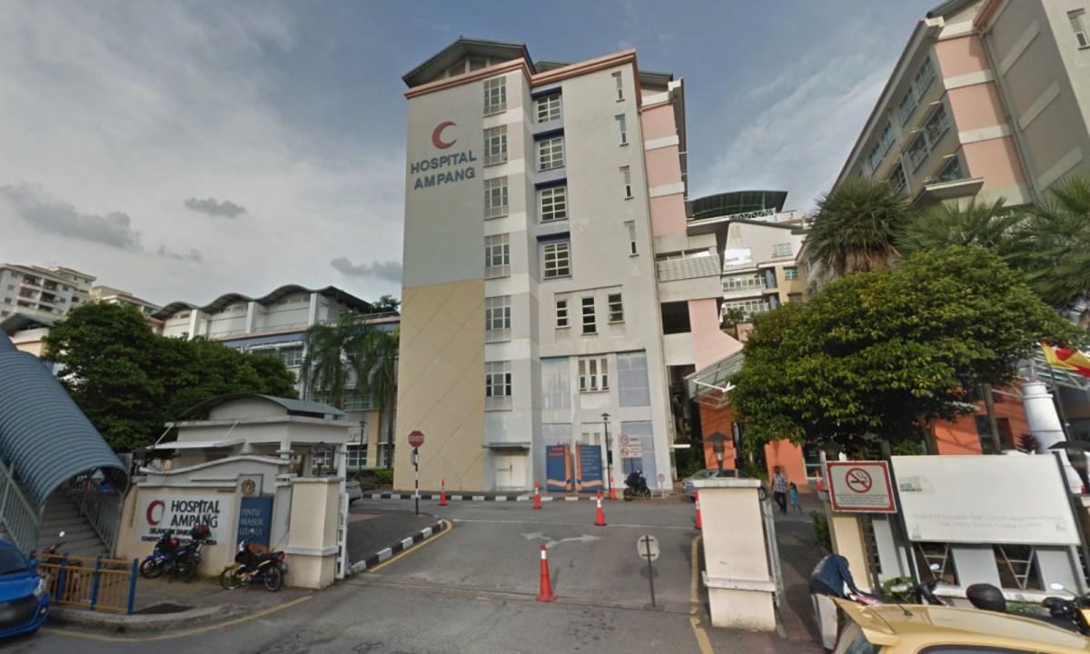 Hospital Ampang in Selangor, Malaysia. Photo: Google Maps