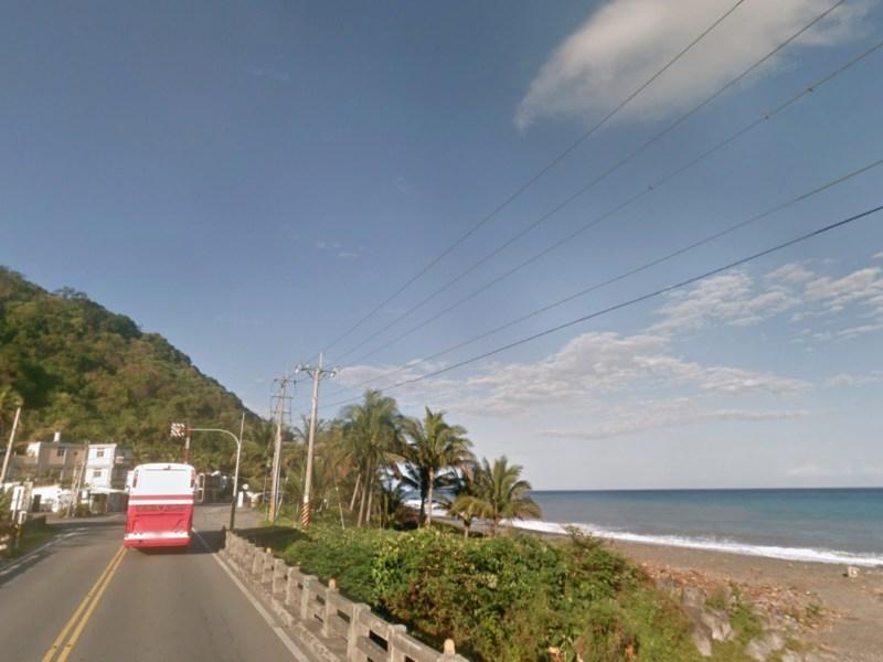 Jia Jin Lin River in Dawu, Taitung county, eastern Taiwan. Photo: Google Maps