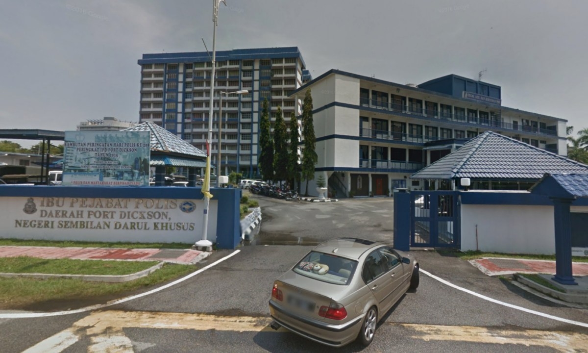 Port Dickson District Police Station, Malaysia. Photo: Google Maps