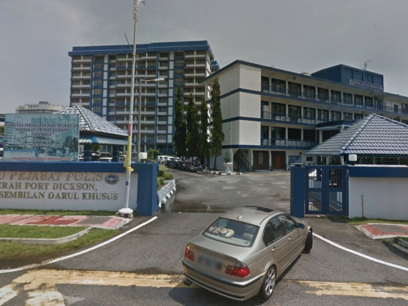 Port Dickson District Police Station, Malaysia. Photo: Google Maps