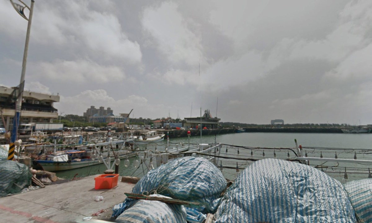 Hsin-chu Fishing Harbor in Taiwan. Photo: Google Maps