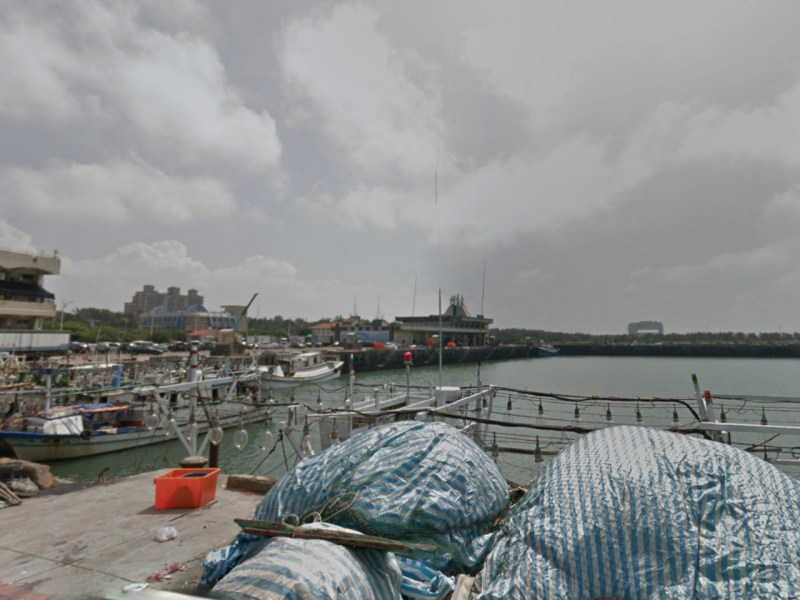 Hsin-chu Fishing Harbor in Taiwan. Photo: Google Maps
