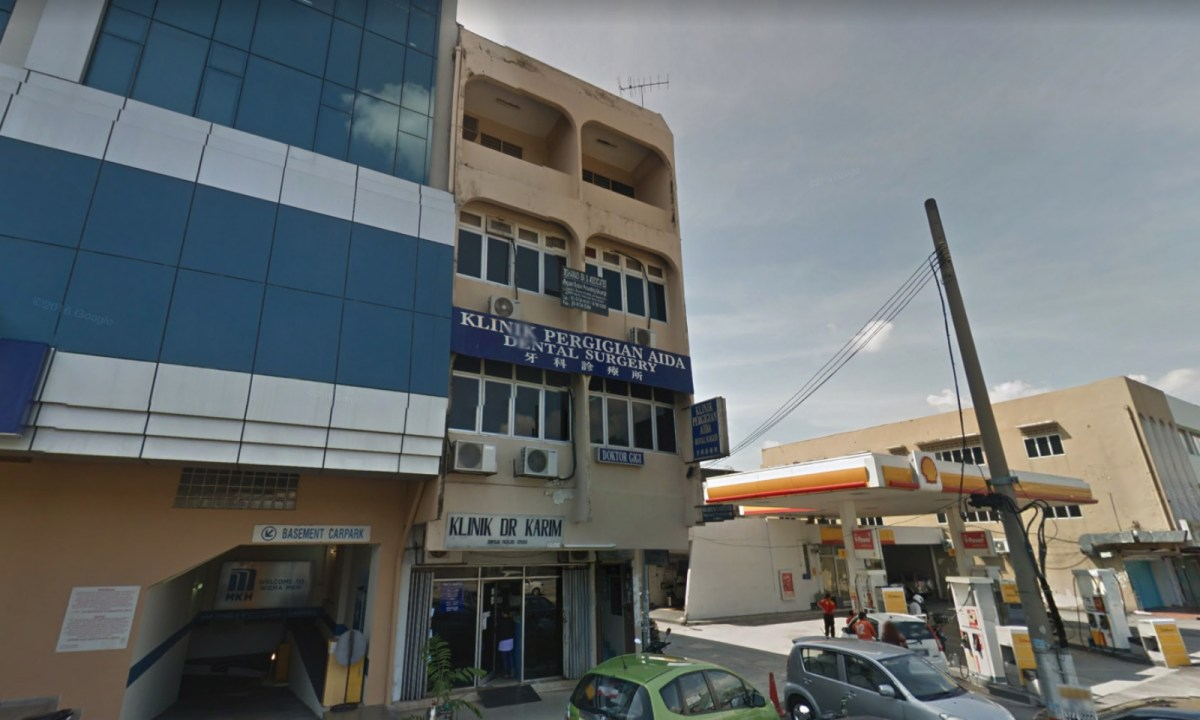 The suspect was discovered hiding behind a billboard in Selangor, Malaysia. Photo: Google Maps