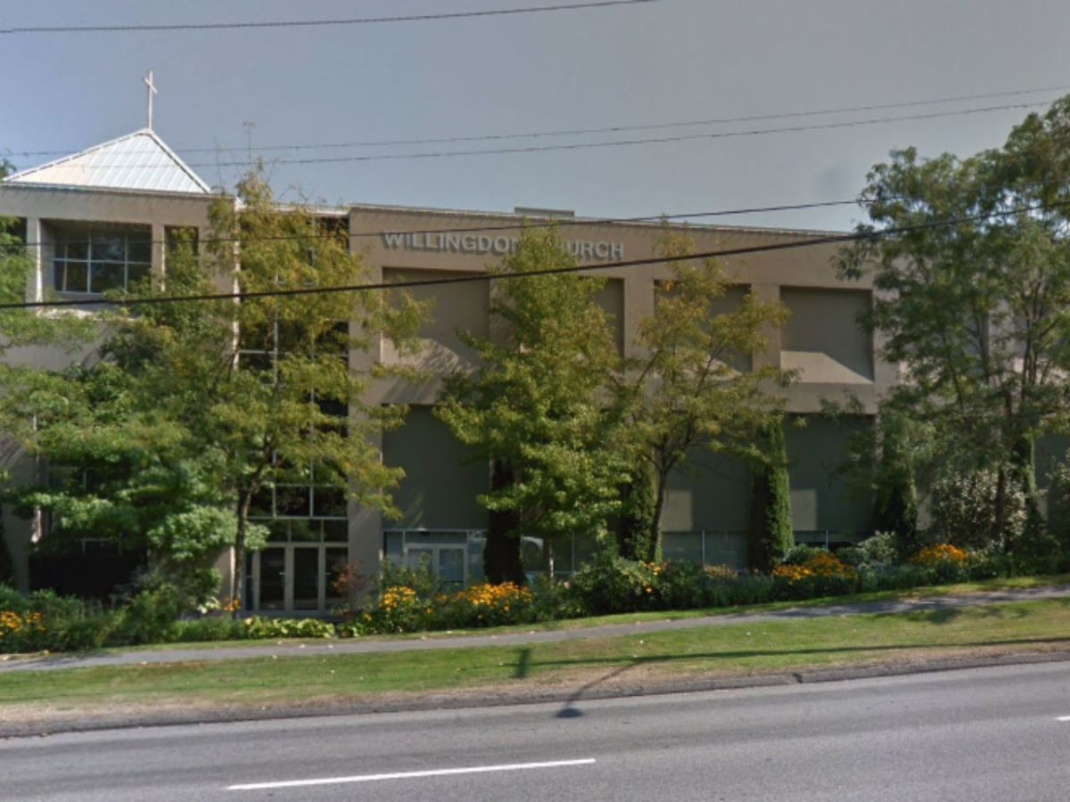 Willingdon Church in Burnaby, Canada. Photo: Google Maps
