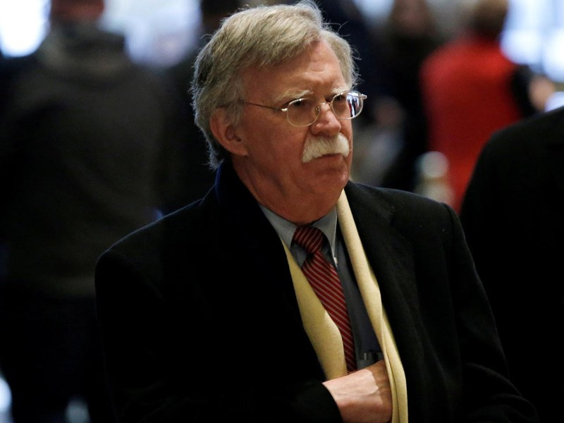 Former US ambassador to the UN John Bolton will take over from outgoing National Security Adviser HR McMaster on April 9. Photo: Reuters/Mike Segar