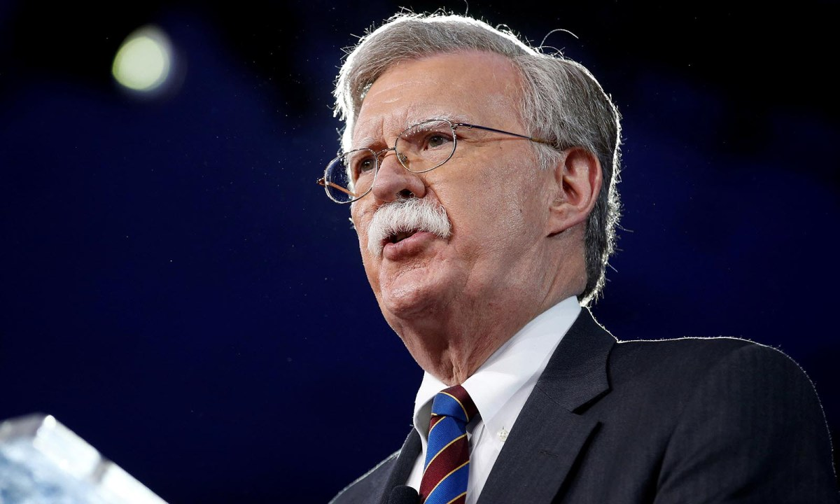 US national security adviser John Bolton speaks at the Conservative Political Action Conference on February 24, 2017. Photo: Reuters/Joshua Roberts