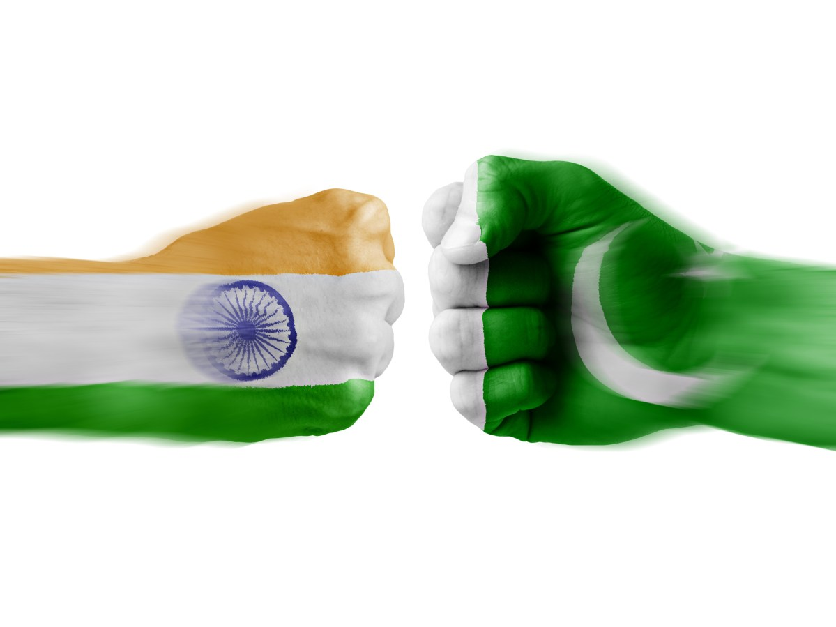 Rivalry between India and  Pakistan sometimes gets un-neighborly. Illustration: iStock