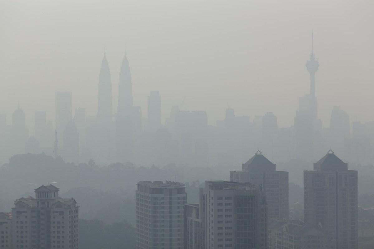 Kuala Lumpur cityscape in a hazy day. Photo: iStock