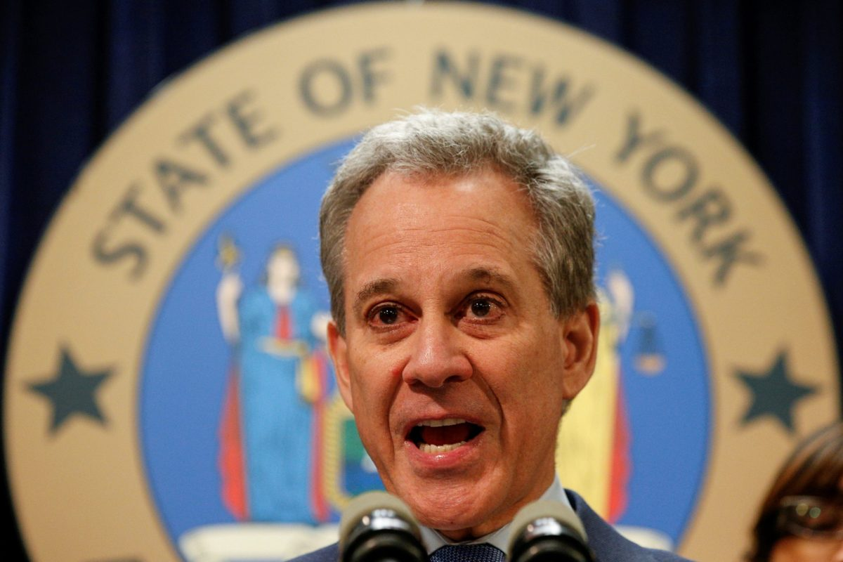 New York Attorney General Eric Schneiderman. Photo: Reuters/Brendan McDermid
