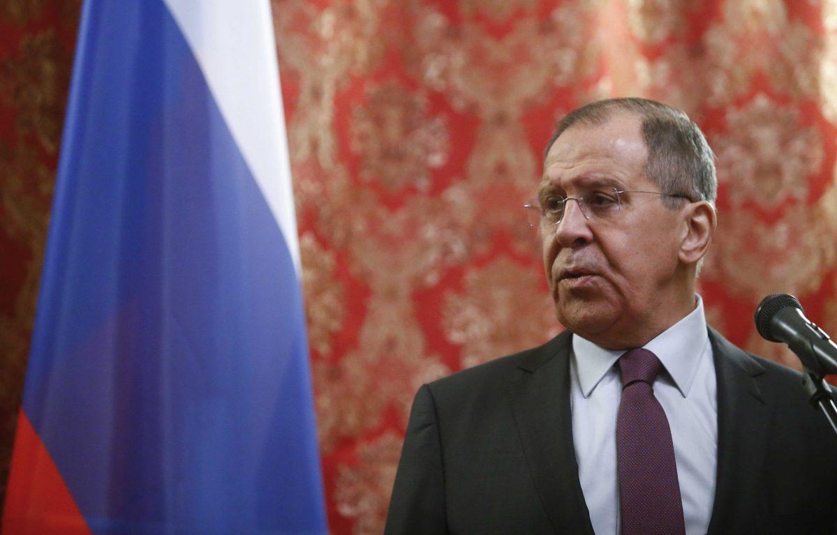 Russia's foreign minister, Sergei Lavrov. Photo: Reuters/Sergei Karpukhin