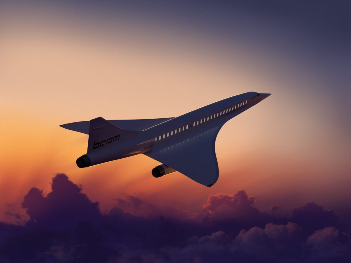 Denver-based Boom Technology Inc. hopes to have its high-tech supersonic airliner in operation by 2023. (Photo courtesy Boom)