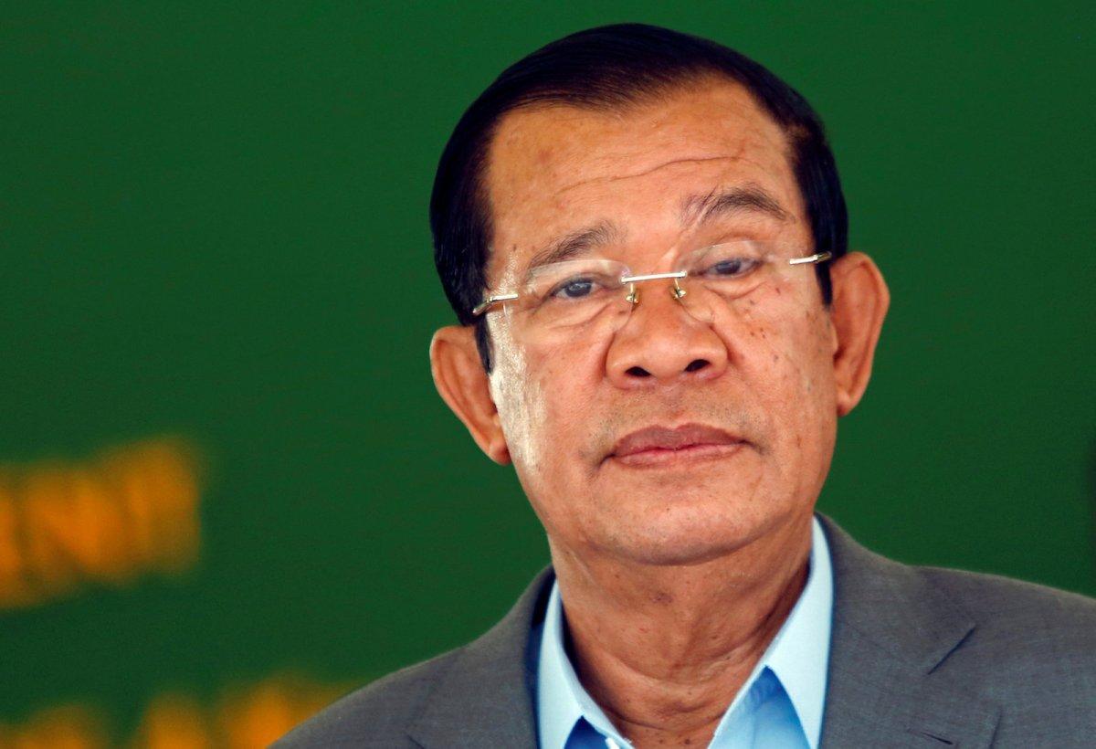 Cambodia's Prime Minister Hun Sen in Phnom Penh, Cambodia March 13, 2018. Photo: Reuters/Samrang Pring