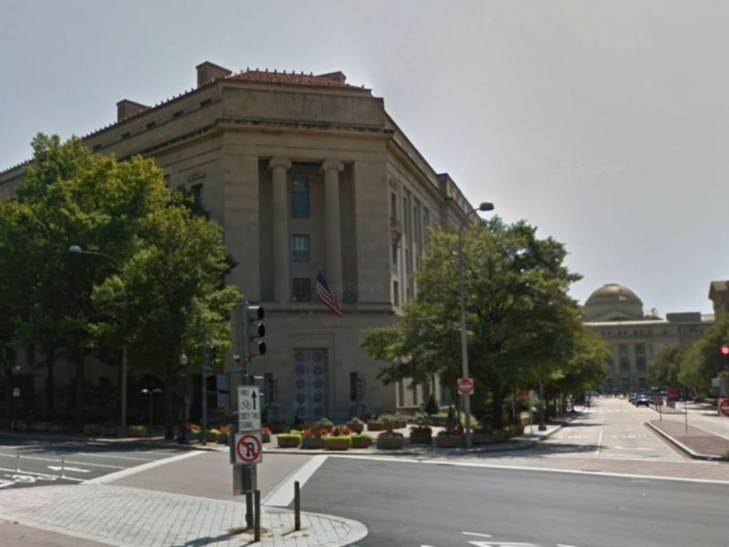 The man was charged by the United States Department of Justice. Photo: Google Maps