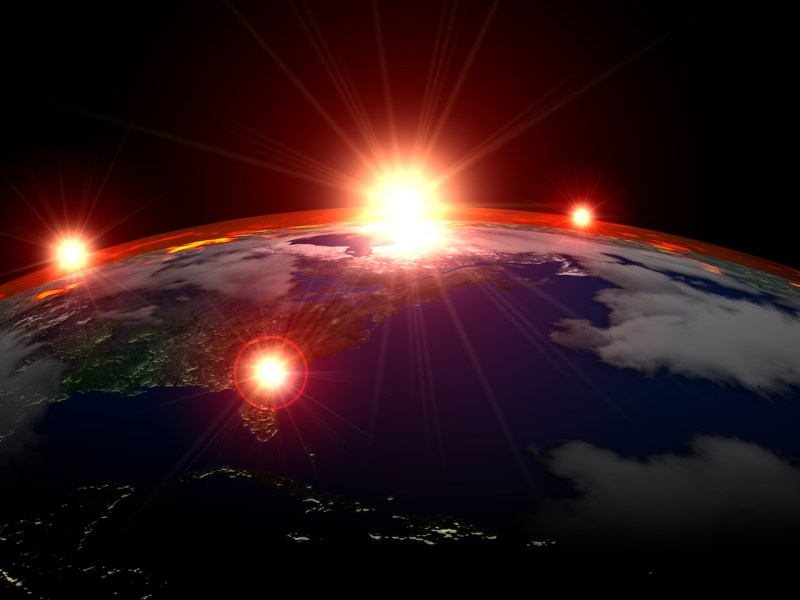 Illustrative image of space warfare. Photo: iStock/Getty Images
