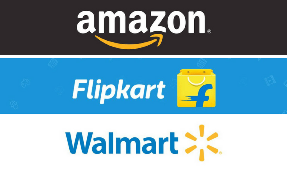 Amazon and Walmart are fighting for a share of the Flipkart pie. Photo: Vishakha Saxena