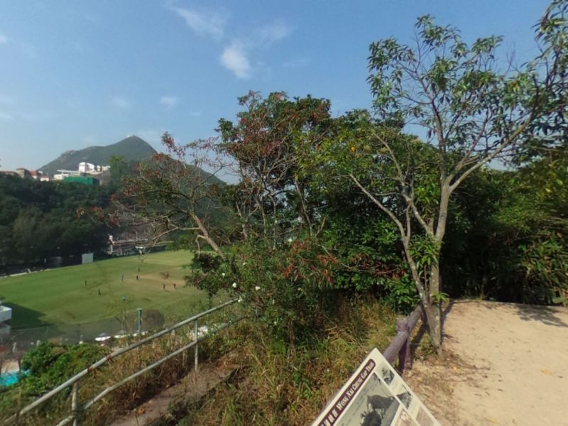 Wong Nai Chung Gap Road in Hong Kong near where the grenades were found. Photo: Google Maps
