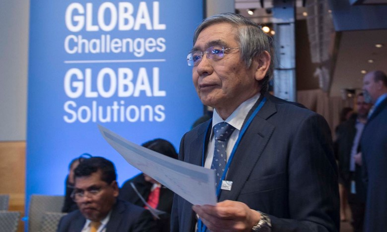 All eyes will be on Bank of Japan Governor Haruhiko Kuroda next week. Photo: AFP