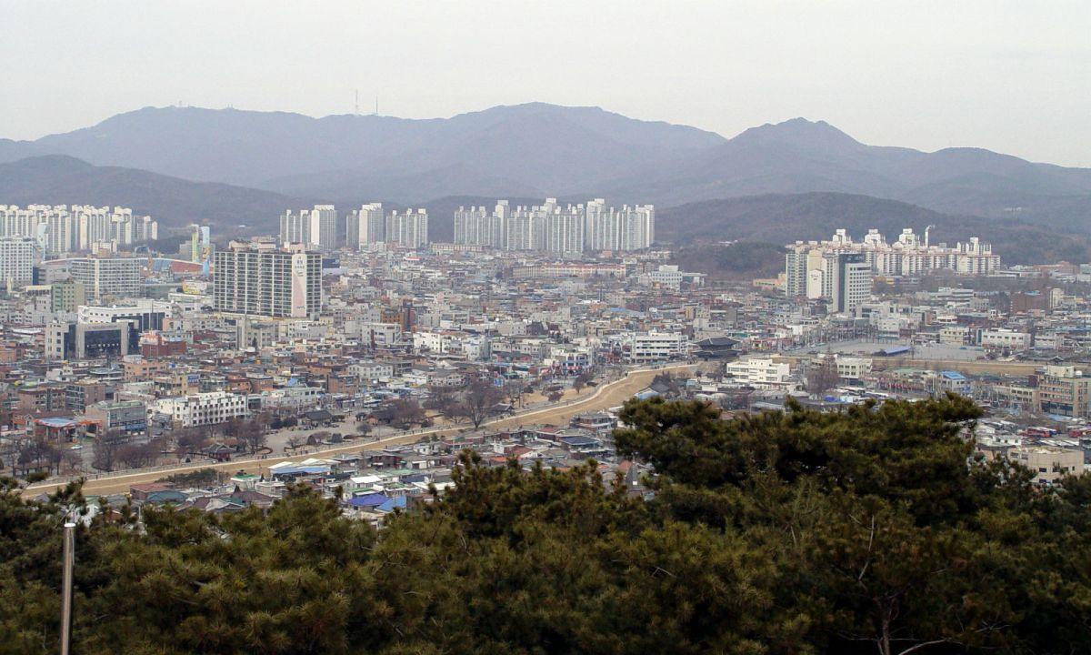 Hwaseong in Gyeonggi Province, South Korea. Photo: Wikimedia Commons