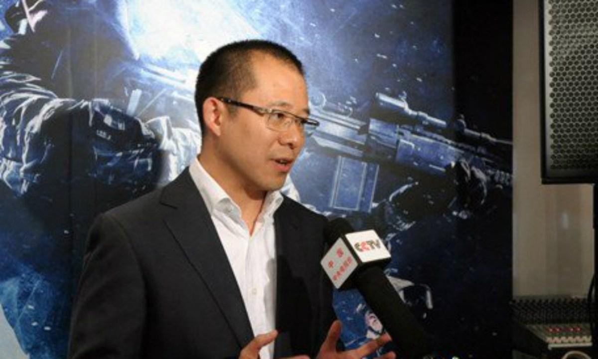 Martin Lau Chi-ping. Photo: CCTV