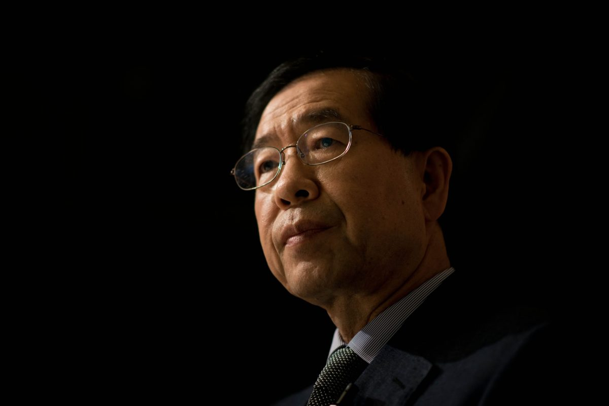 Seoul's mayor, Park Won-soon. Photo: AFP/Ed Jones