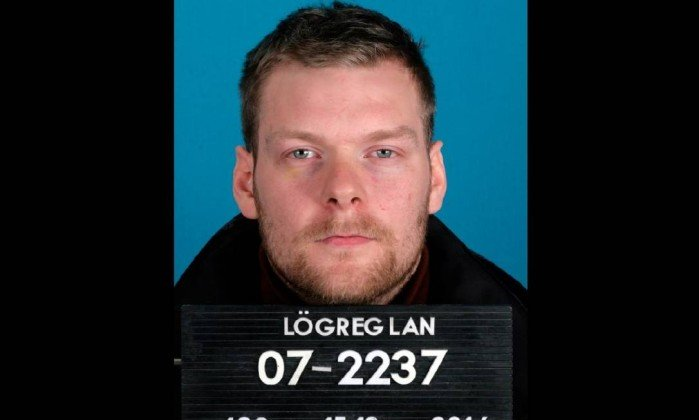 Sindri Thor Stefansson, the suspected mastermind behind the theft of 600 bitcoin mining computers in  Iceland. Photo: Reykjavík Metropolitan Police