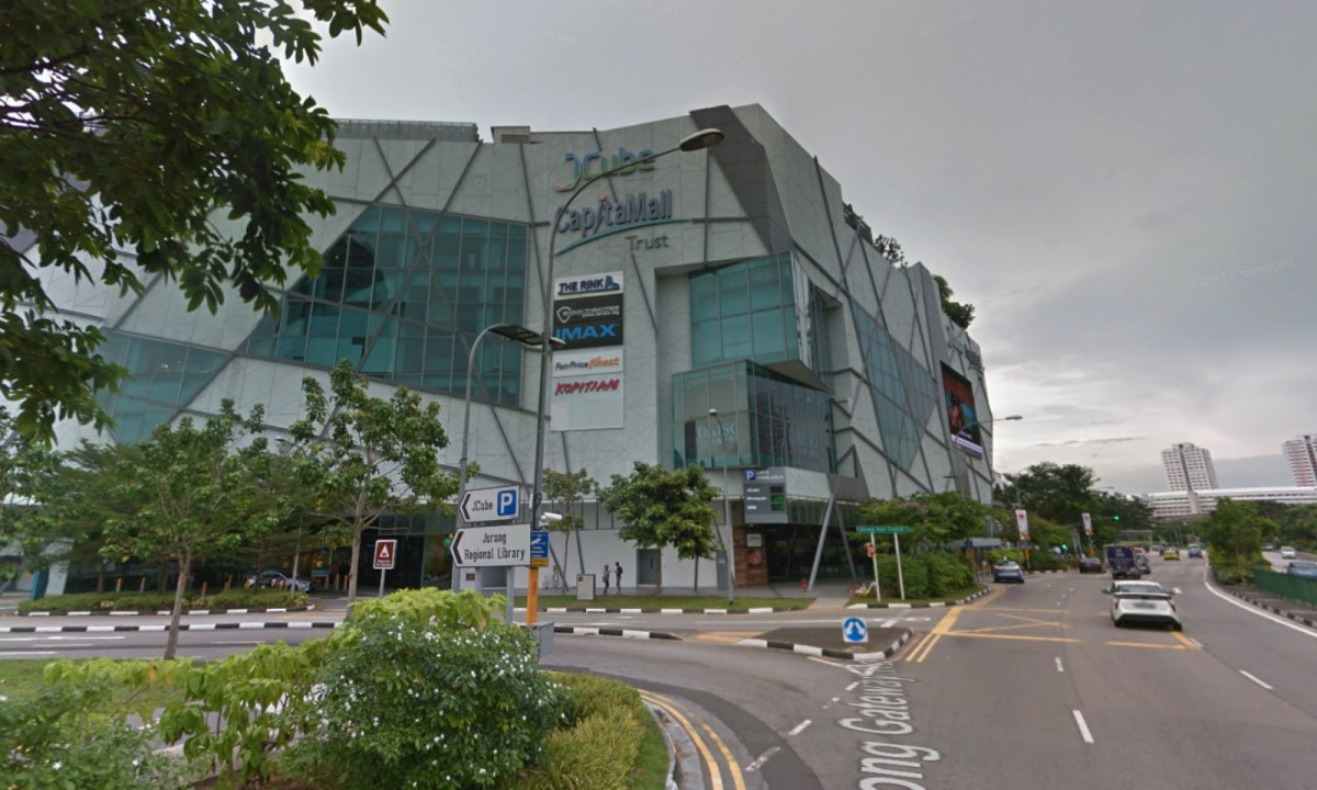 The Rink at JCube in Singapore. Photo: Google Maps